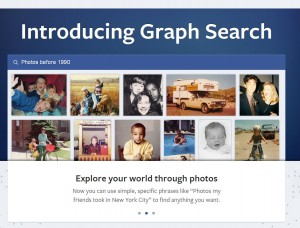 Facebok graph search