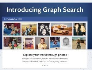 Facebok graph search
